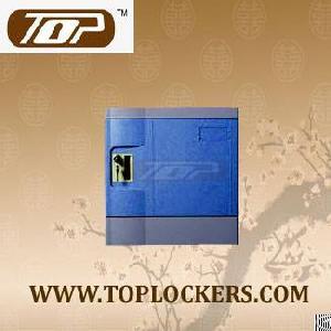 six tier storage lockers abs plastic navy