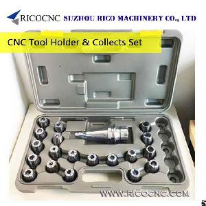 cnc router milling tool holder collets chuck metric er collet