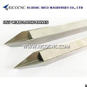 steels v cutter hss woodturning tool cnc wood lathe knife turning tools