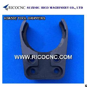 hsk50e tool changer grippers cnc forks router machine