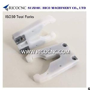iso30 tool holder forks atc grippes cnc toolholder clamps router machine