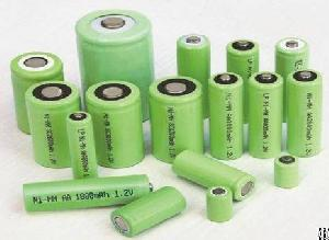 Nimh Nickel Metal Hydride Battery Cells Aaa Aa C Sc D F 9v With Oem Pvc Sleeve