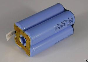 Perma Battery Pack Made Of Top Quality Li-ion 18650 And External Protection Pcm