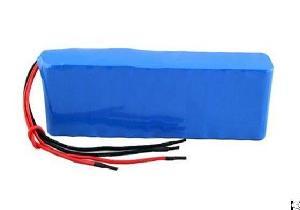 perma battery packs sanyo li ion 18650 protection pcm 4 wires