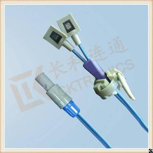 Bci 7 Pin Reusable Spo2 Sensor, Neonate Silicone Wrap Y Type, L 3m