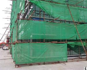 blue construction building safety nets