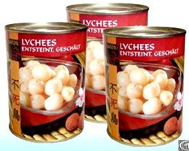 Canned Lychees In Light / Heavy Syrup From Viet Nam