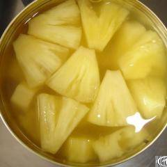 Canned Pieces Pineapple In Syrup Cayenne / Queen From Viet Nam