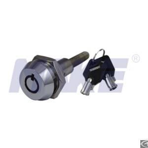 Vending Machine Cylinder Lock, Zinc Alloy, Brass, Nickel Plated