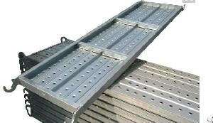 construction scaffolding floor steel anti slip walkway