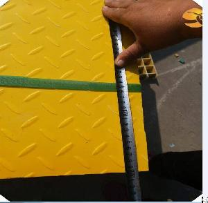 Fiberglass Frp Grating With Checkered Plate Factory