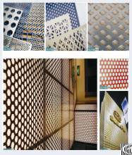 galvanized aluminum perforated metal hole