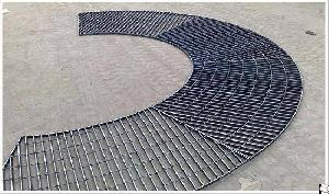 Heavy Duty Open Steel Grating Profile, Trench Cover Grating