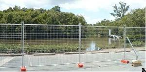dip galvanized temporary fence mobile wire