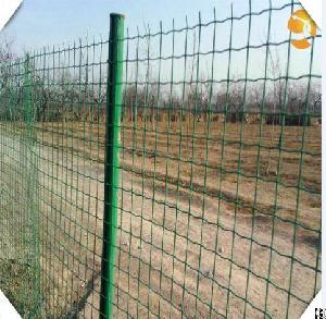 pvc coated weaving wire mesh factory land fence