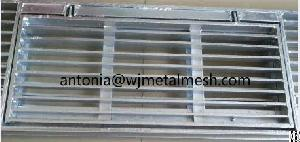 Steel Drain Grating Panel, Water Trench Steel Grate Cover