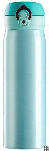 zc ht w sus304 316 201 stainless steel lid bounce multicolor vacuum 300ml 500ml
