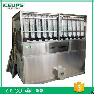 iceups ice cube machine evaporator 5000kg