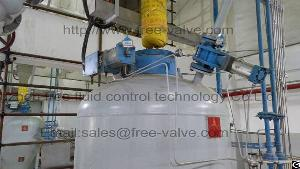 ceramic lined gate valve ash pneumatic conveying system coal fire plant