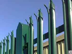 security palisade fencing