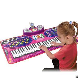 Electronic Keyboard Playmat, Slw9728, Pink