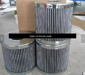 pleated oil filter elements