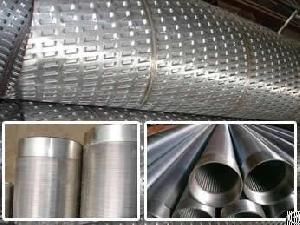 stainless steel wedge wire strainer filter elements