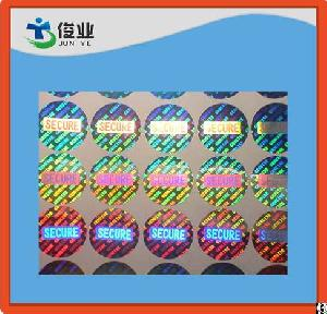3d hologram security adhesive sticker