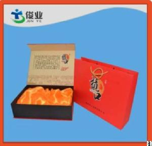 brightly painted food printing paper box