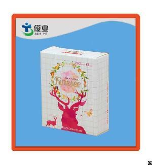 elegance fashion soft printing box packing