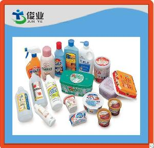 In-moulding Plastic Adhesive Labels In Pe And Pp Bottles Cups Boxes