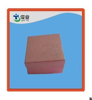 pink exquisite gift word cap box