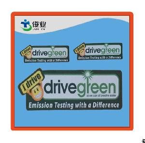 printed reflective pvc stickers outdoor