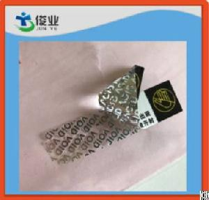 Void Tamper Proof Adhesive Hologram Stickers