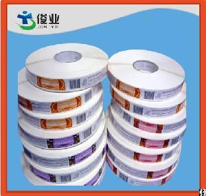 waterproof adhesive sticker roll label