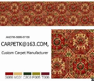 carpet suppliers tile axminster wilton printed hand tufted factory