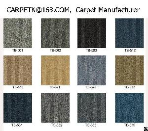 carpet tile manufacturers pp nylon modular squares office factory