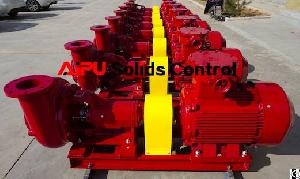 Aipu Solids Control Drilling Fluid Centrifugal Pump At Oilfield Drilling Mud System