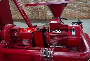 drilling fluid blending mud mixing pump aipu solids control