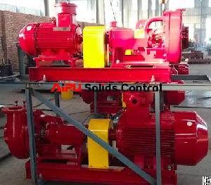 durable mechanical sealed sand pump hdd mud recycling system aipu solids control