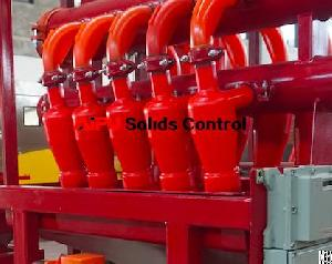 Oilfield Apcn Hydrocyclone Desilter For Drilling Fluid Solids Control At Aipu Solids