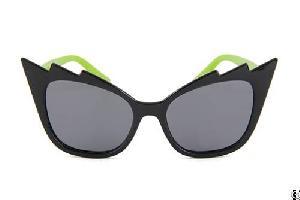 Kids Sunglasses Silicon Special Shape Interesting Polarized Smoke Lens
