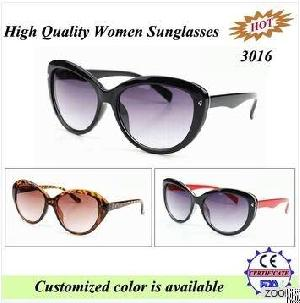 wholesale logo young women retro eyewear ladies fashion round sunglasses 3016