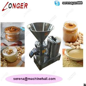 industrial peanut butter machine almond paste grinding
