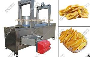 Continuous Peanut Frying Machine