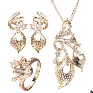 designer gold plated african jewelry
