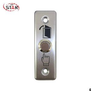 stainless steel panel access control button exit switch home safe