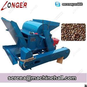 Castor Bean Shelling Machine Castor Seed Sheller Huller Machine