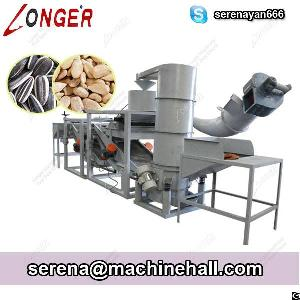 sunflower seed shelling machine shell removing seeds dehuller
