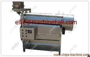 Fried Food Seasoning Machine Snacks Flavoring Machine